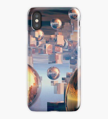 Splitting views iPhone Case