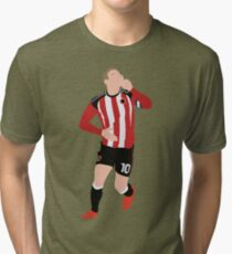 b8ca75ae69e Fat Lad From Sheffield Billy Sharp Tri-blend T-Shirt
