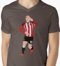 Fat Lad From Sheffield Billy Sharp Men's V-Neck T-Shirt