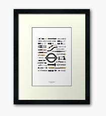 An Elegant Weapon Framed Print