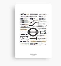 An Elegant Weapon Metal Print