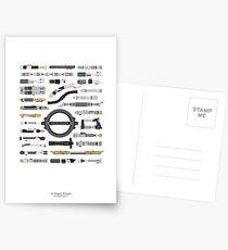 An Elegant Weapon Postcards