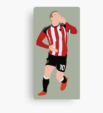 Fat Lad From Sheffield Billy Sharp Canvas Print