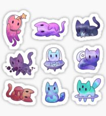 Space Cats Sticker