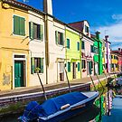 Boats in Burano by dbvirago