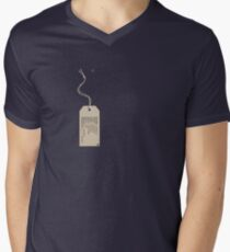 classified: human Mens V-Neck T-Shirt