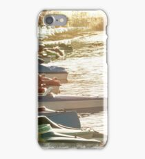 Row Boats iPhone Case/Skin