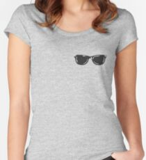 Youtube Sunglasses Women's Fitted Scoop T-Shirt