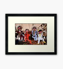 You muppets! Framed Print