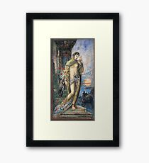 Gustave Moreau - Song Of Songs 1893 Framed Print