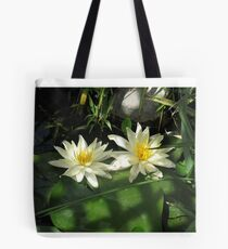 Water Lilly Tote Bag