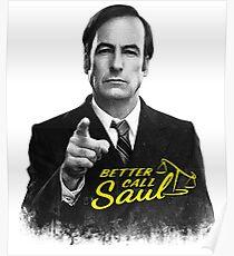Better Call Saul B&W Poster