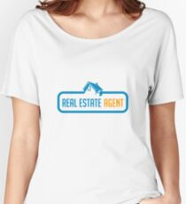Real Estate Agent - Home Salesperson - Real Estate Broker Gift Women's Relaxed Fit T-Shirt