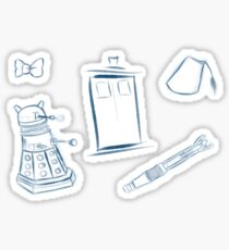 Doctor Who - Sticker pack Sticker