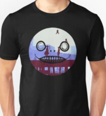 Nier Automata 2B and 9S Emil Face Unisex T-Shirt