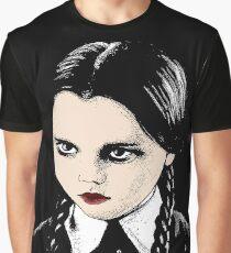 Wednesday Addams Graphic T-Shirt