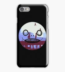 Nier Automata 2B and 9S Emil Face iPhone Case/Skin