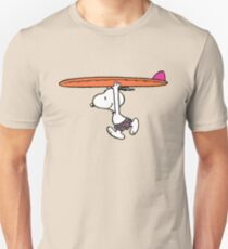 The Peanuts - Snoopy Surfing T-Shirt