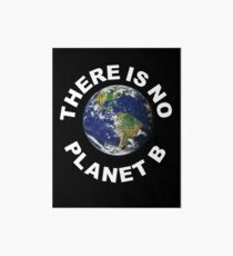 There Is No Planet B - Save Earth -	 Art Board