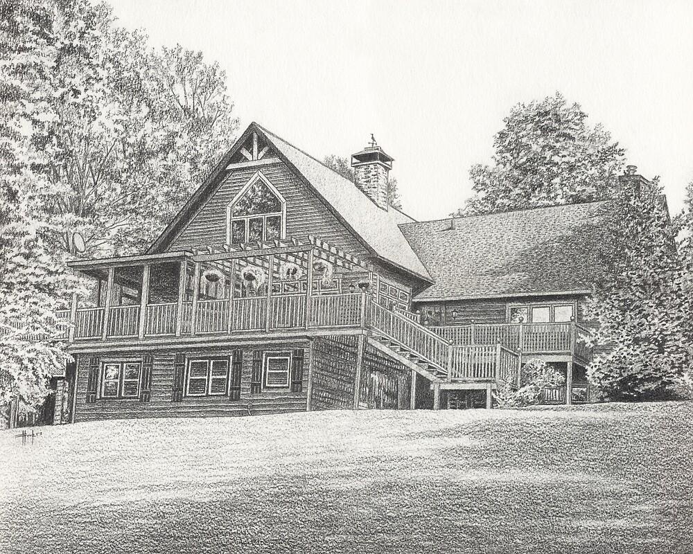 House Portrait I by John Houle