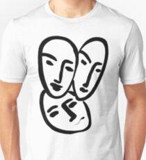 l'amitié Unisex T-Shirt