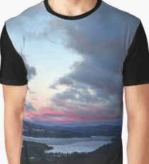 Sunset over Newfound Lake Graphic T-Shirt