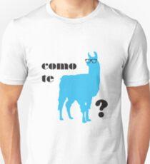 Como Te Llamas Humor Pun Poster Art Unisex T-Shirt