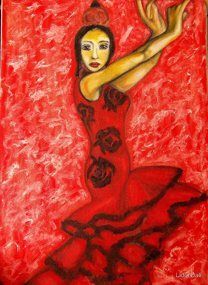 Famenco Dancer by Lidiya