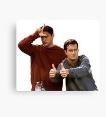Joey & Chandler - FRIENDS Canvas Print