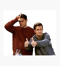 Joey & Chandler - FRIENDS Photographic Print