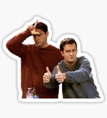 Joey & Chandler - FRIENDS Sticker