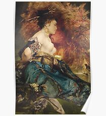 Hans Makart - The Japanese 1870 Poster