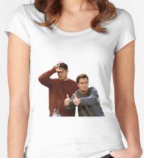 Joey & Chandler - FRIENDS Women's Fitted Scoop T-Shirt