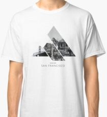 In love with San Francisco black/white Classic T-Shirt