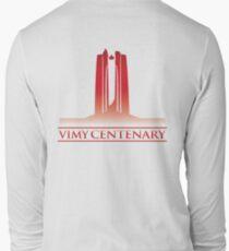 Vimy Centenary Flag Transition Long Sleeve T-Shirt