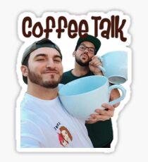 Coffee Talk - Zane and Heath  Sticker