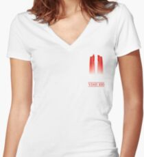 Vimy 100th Anniversary Women's Fitted V-Neck T-Shirt