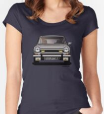 Simca 1100 TI Women's Fitted Scoop T-Shirt
