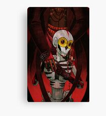 Here be voodoo : The Dear Baron Canvas Print
