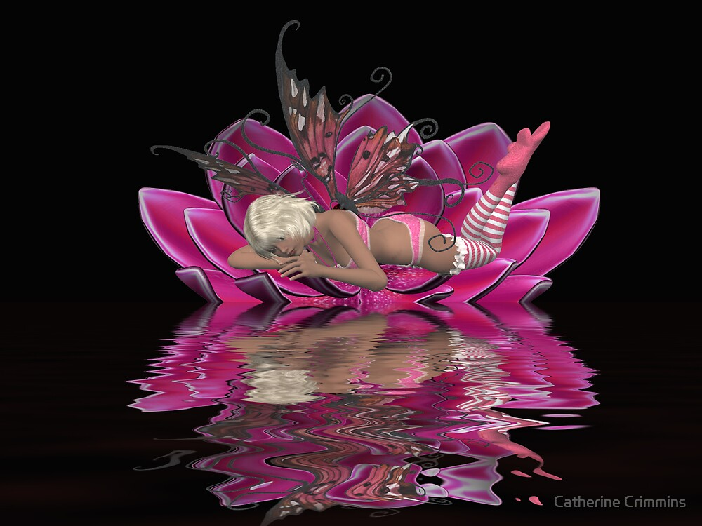 Water Fairy 3 by Catherine Crimmins