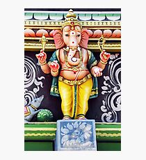 Ganesha Hindu God Statue Photographic Print