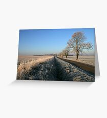 Birthorpe Road Frost Greeting Card