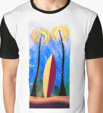 The surfboard  Graphic T-Shirt