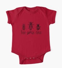 Bee-YOU-tiful One Piece - Short Sleeve