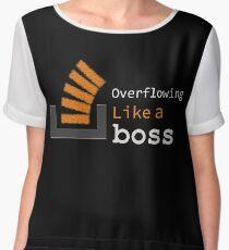 Overflowing like a boss Chiffon Top
