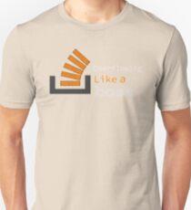 Overflowing like a boss Unisex T-Shirt