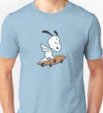 Snoopy Skateboarding T-Shirt