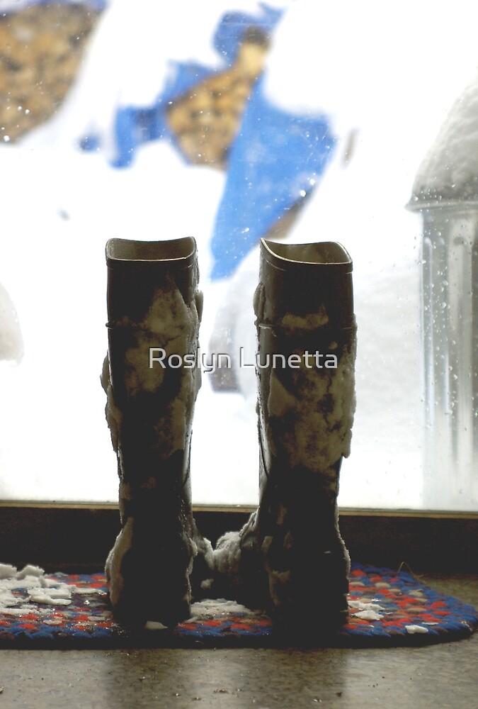 boots by Roslyn Lunetta