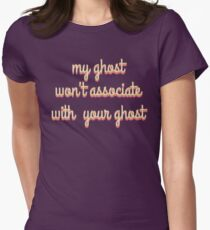 My Ghost  Women's Fitted T-Shirt