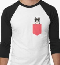 Montana - Border Collie gifts for dog people and dog lovers gifts for the dog person Men's Baseball ¾ T-Shirt